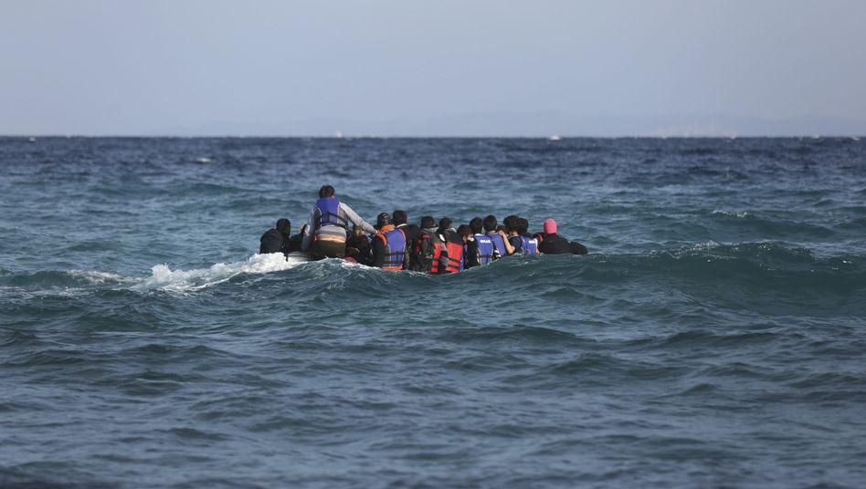Türkei-Griechenland: 18 Tote bei Untergang von Flüchtlingsboot in der Ägäis
