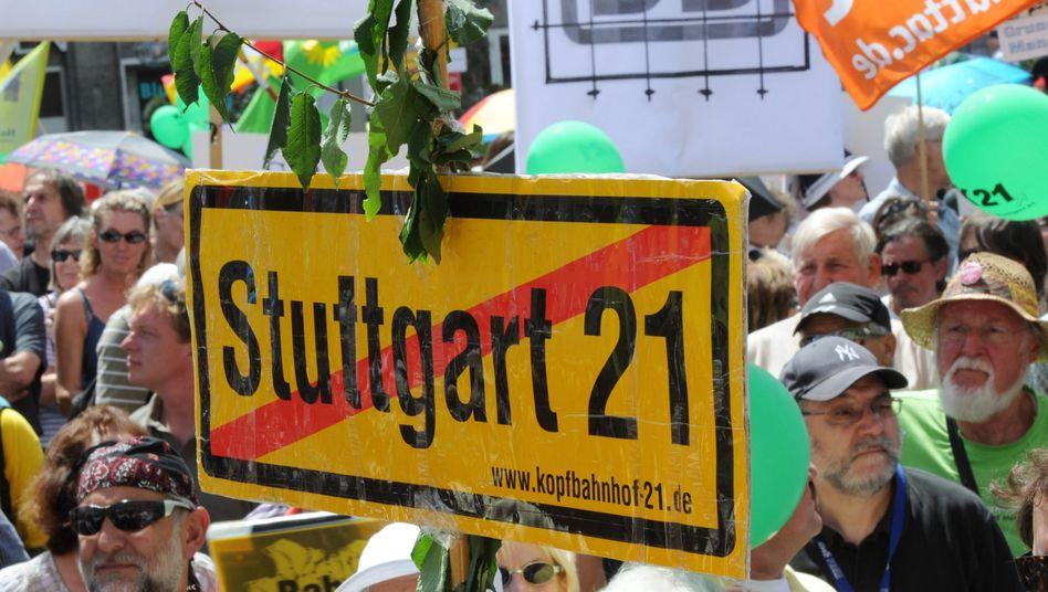Demonstranten gegen Stuttgart 21: Was passiert mit der Protestbewegung?