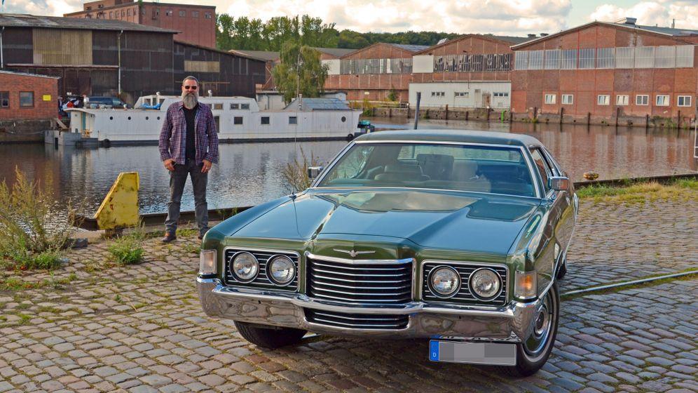 Thunderbird von 1972: Mr Frost fährt Ford
