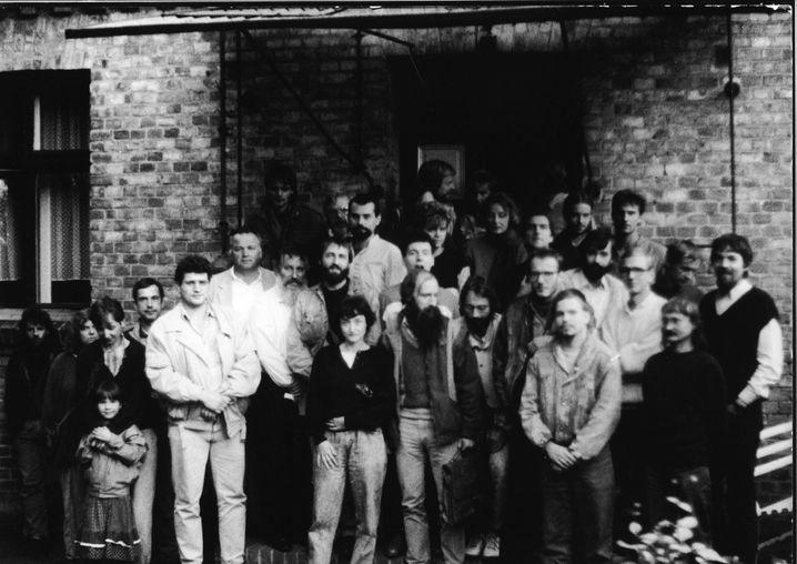 SDP-Gründung in Schwante am 7. Oktober 1989