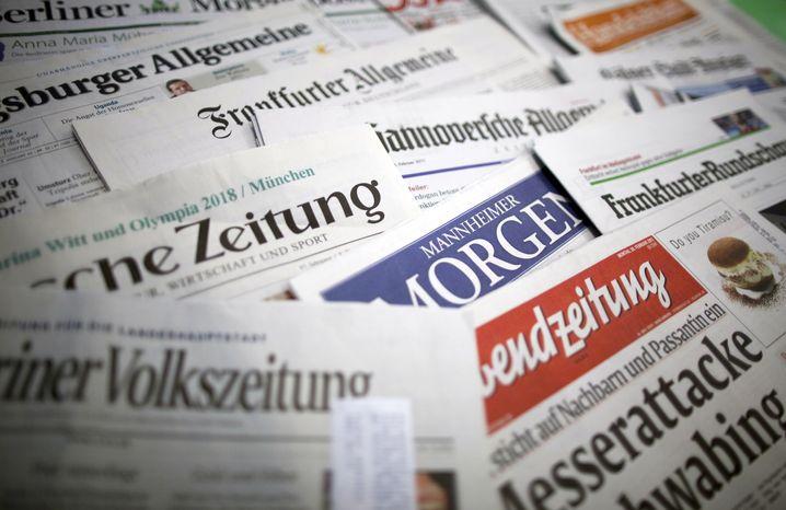 Tageszeitungen: Keine Nachricht ist heute mehr bis zum Folgetag zu halten