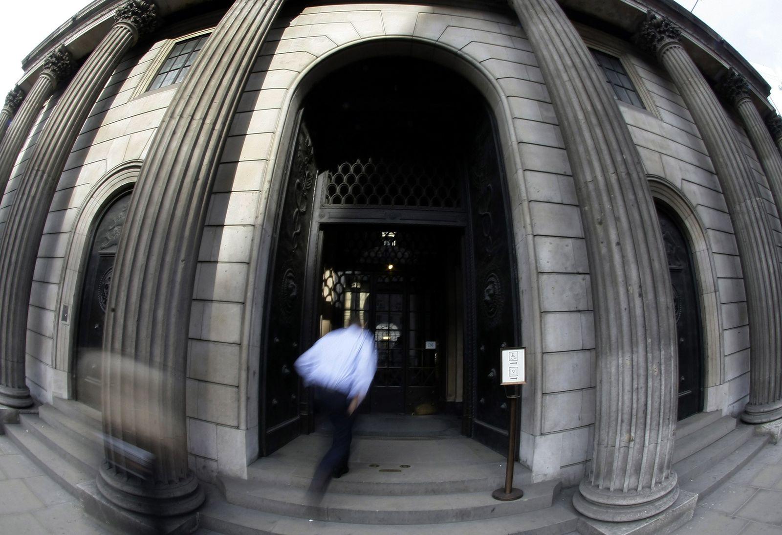 Wirtschaft Großbritannien Bank of England