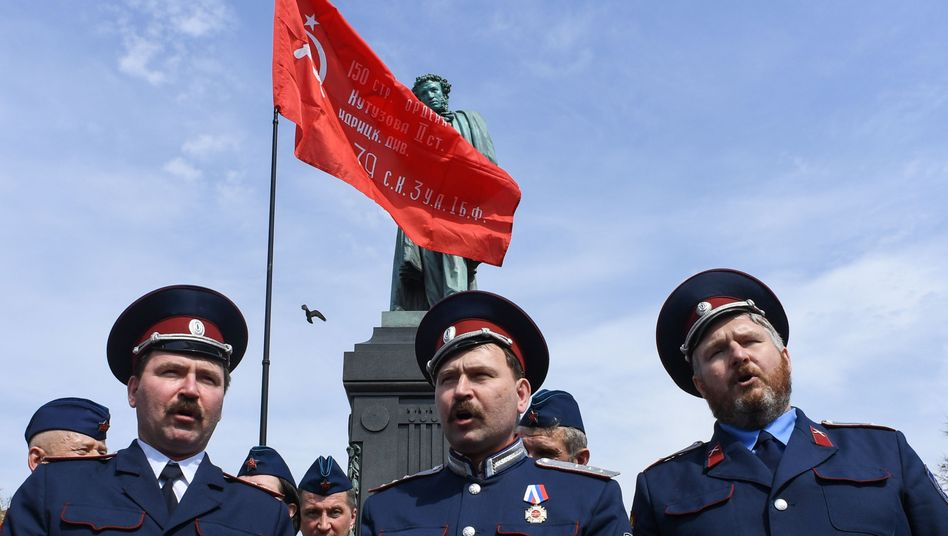 Kosaken in Moskau