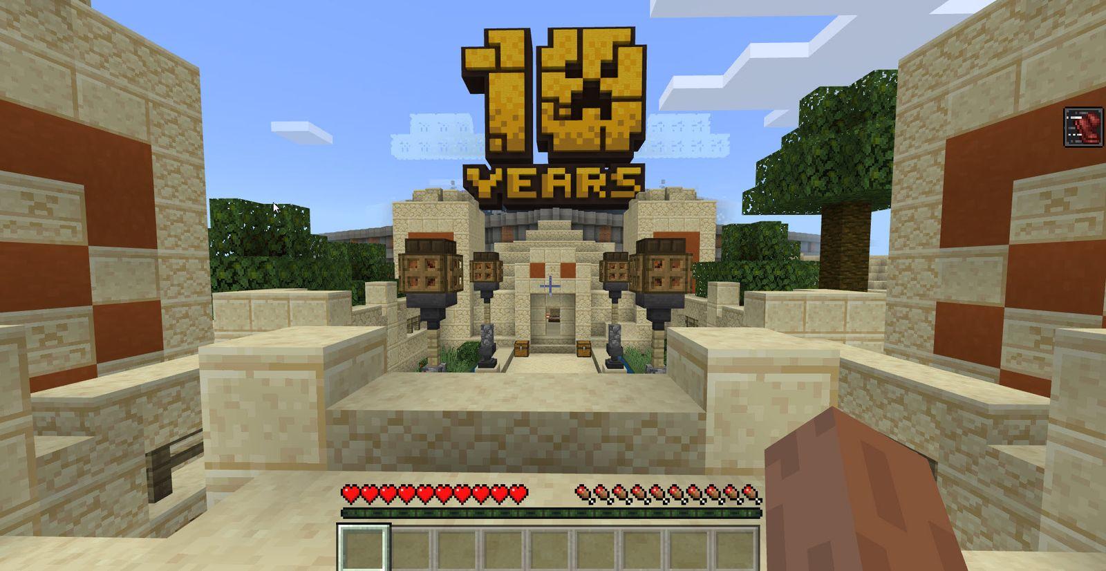 NUR ALS ZITAT Screenshot Minecraft Mojang Stockholm