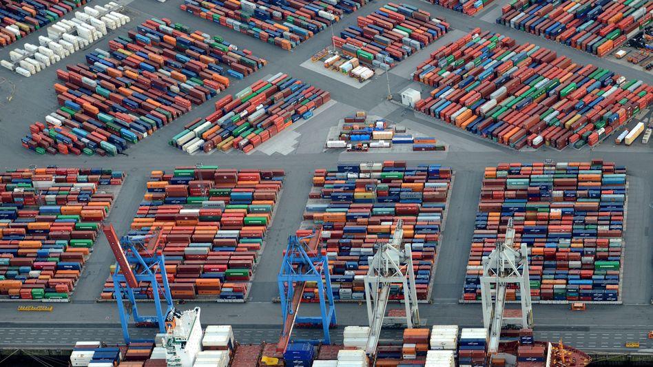 Hamburger Hafen: Problem Exportüberschüsse