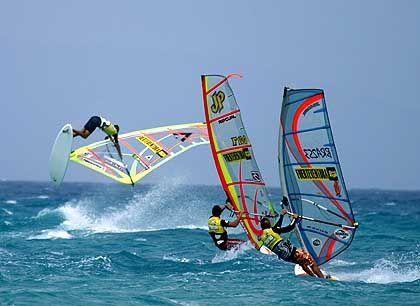 """Wind im Segel: """"Fuerte"""" ist ein Surfer-Paradies"""