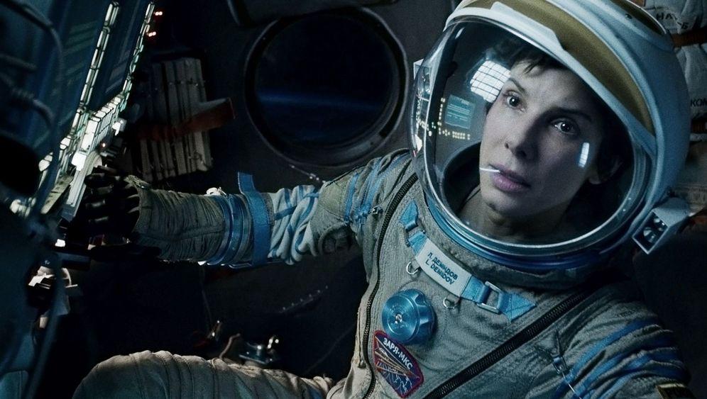 """Gravity"": Zwei Weltstars im Weltall"