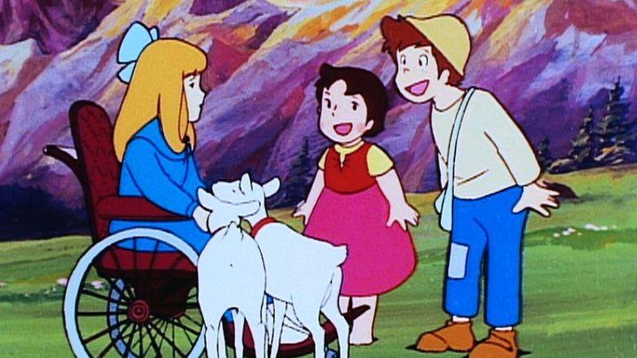 """Kult-Zeichentrickserie """"Heidi"""": Geissenpeter, Berge und das große Glück"""
