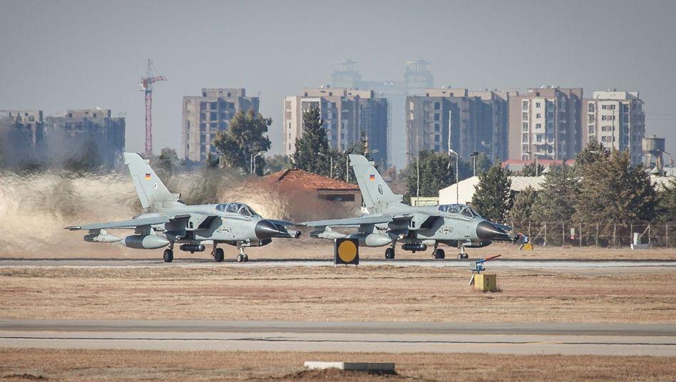 Recce-Tornados der Luftwaffe in Incirlik