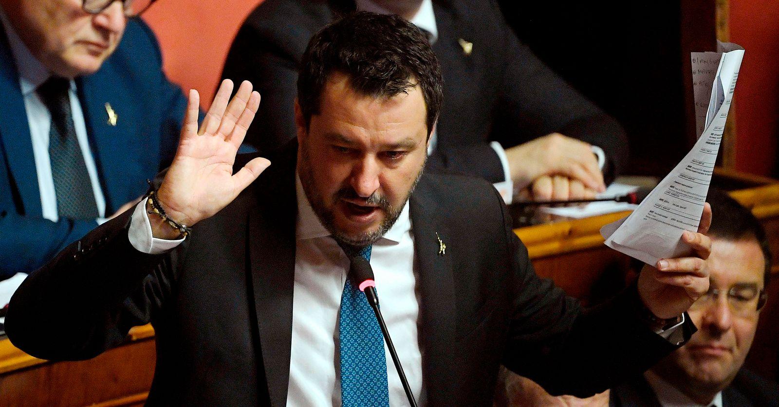 ITALY-POLITICS-MIGRANTS