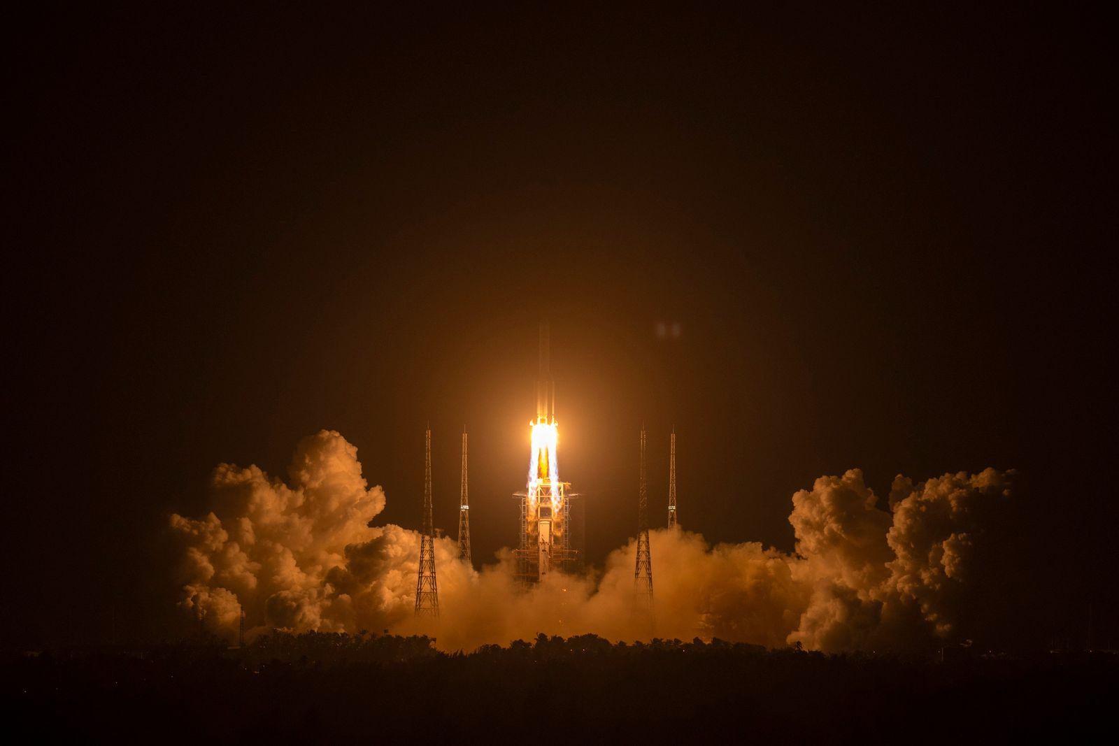 China Moon Mission