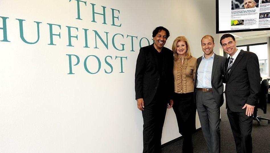 Führungsteam: Jobatey, Huffington, Matthes, Eckert
