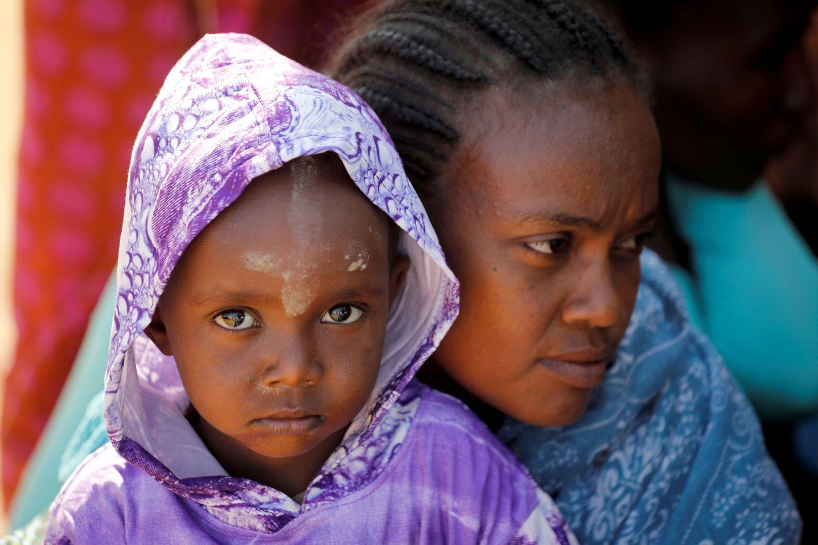 Um Rakuba refugee camp on Sudan-Ethiopia border