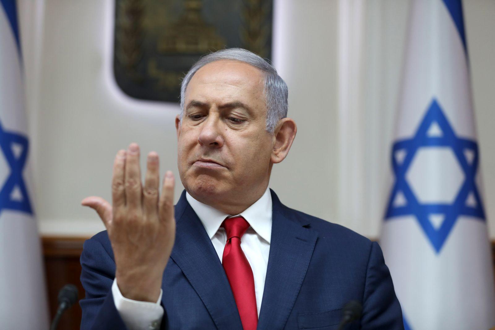Netanjahu/ Knesset 2019/ Israel