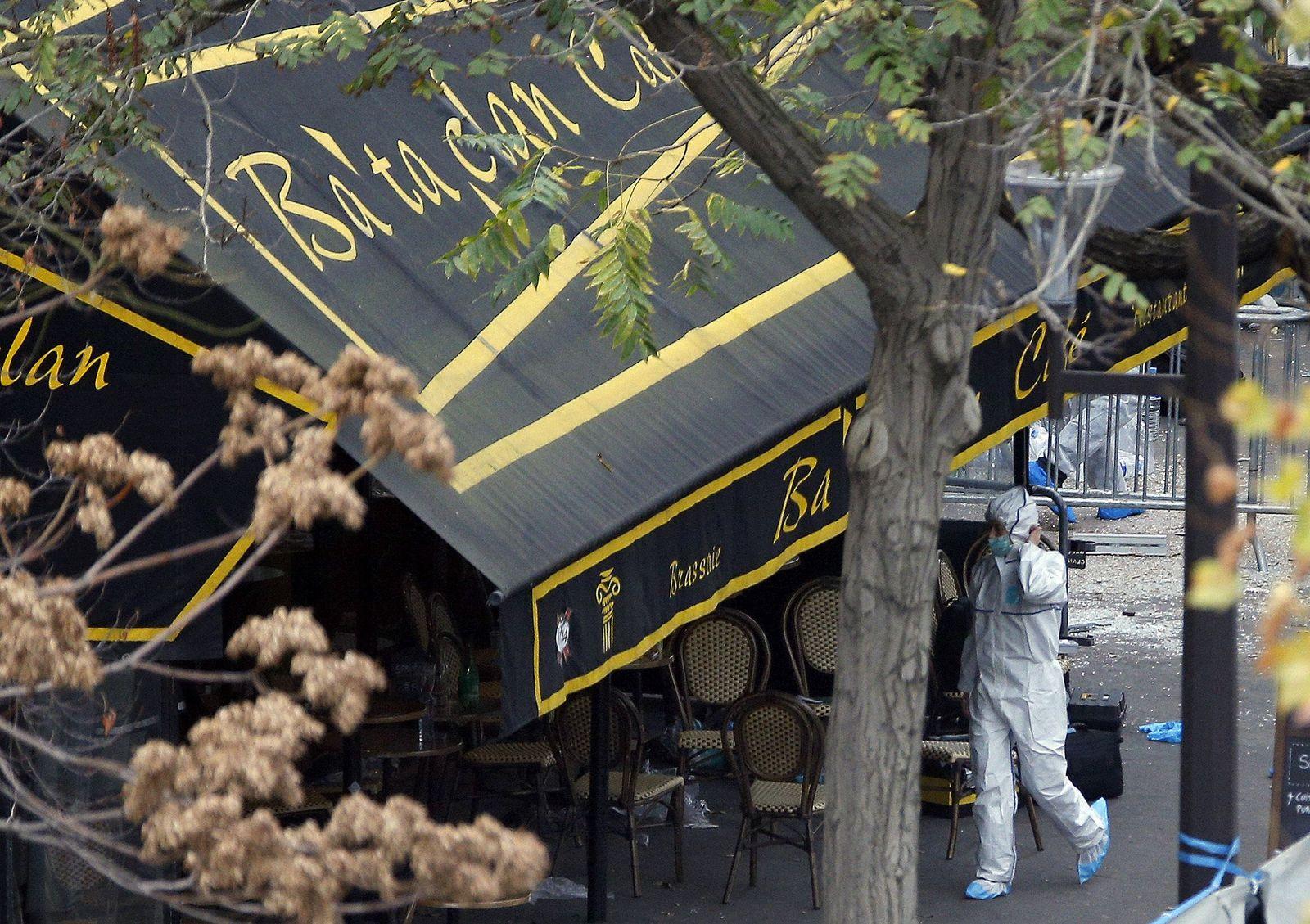 Frankreich/ Paris/ Nach Anschlägen/ Bataclan/ Polizei