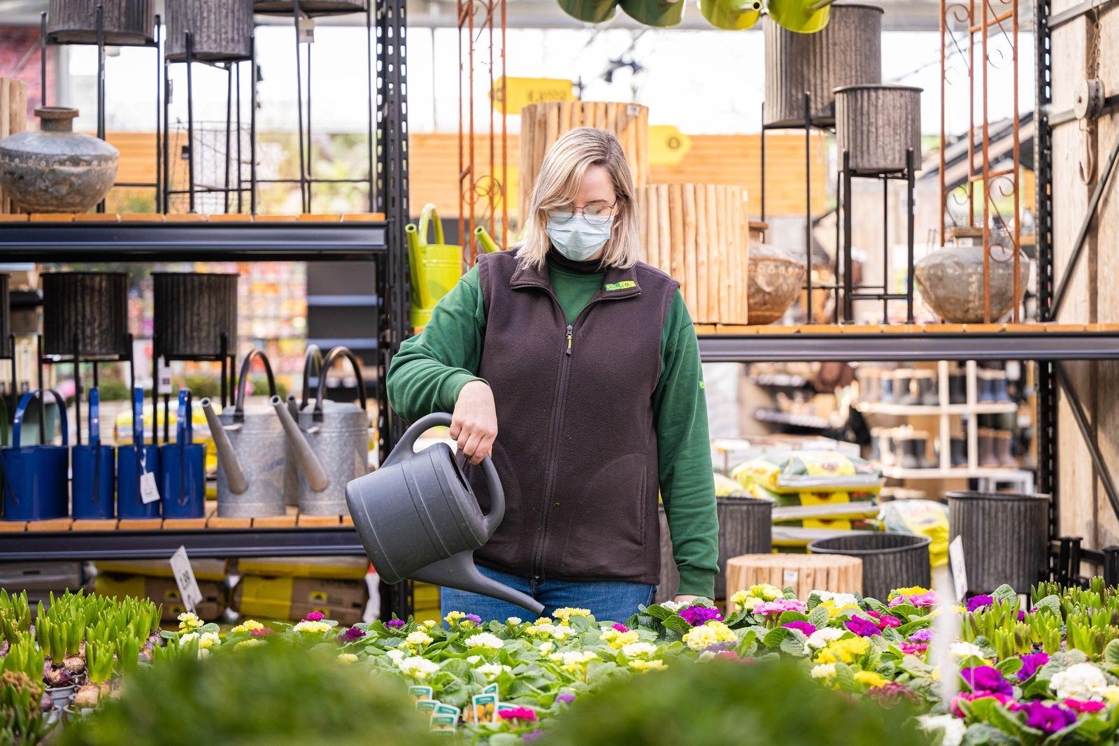 Gartencenter öffnen wieder