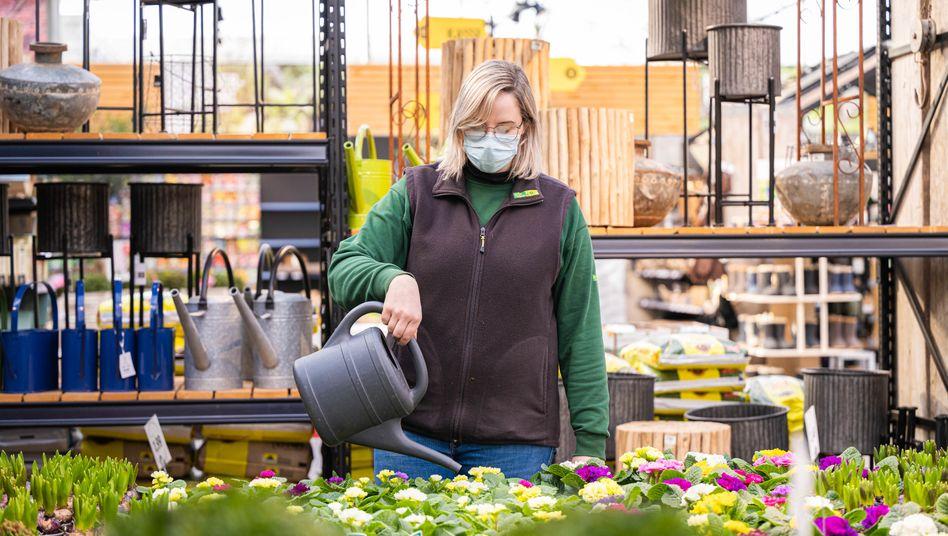 Gartencenter in Oldenburg: Hoffen auf das Frühlingsgeschäft