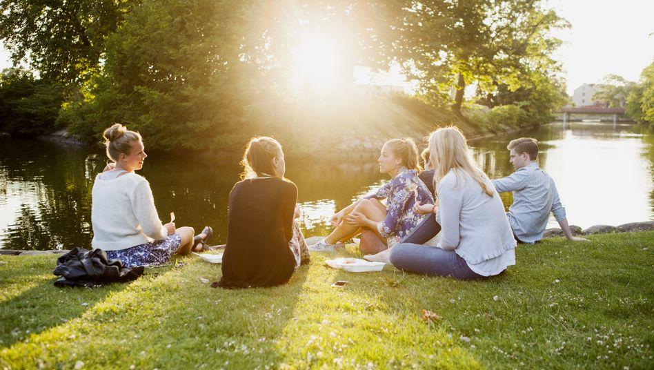 """Jugendliche suchen das """"gute Leben"""""""