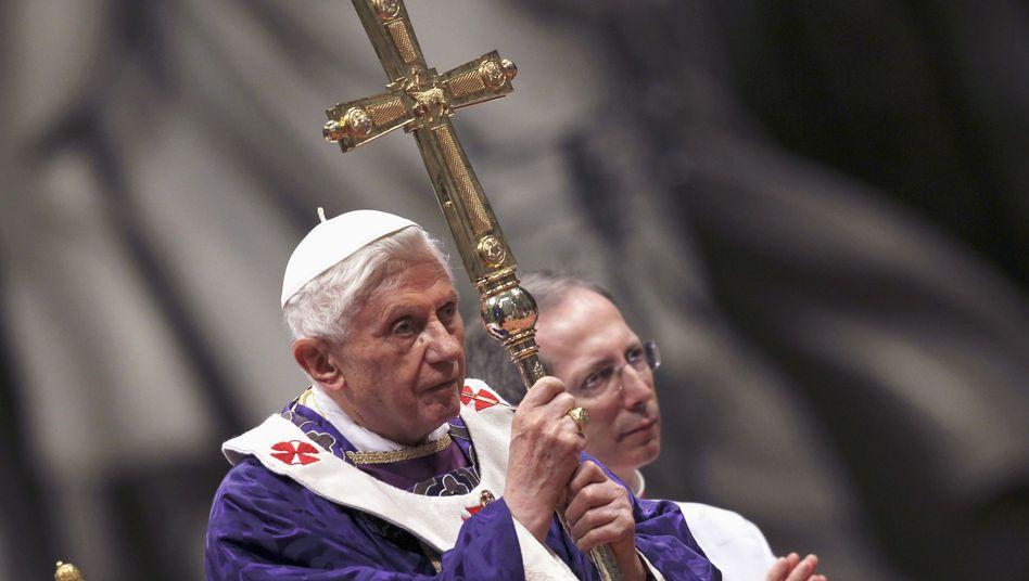 Benedikt XVI. (Archivbild): Letzte Vorbereitungen für die Generalaudienz in Rom