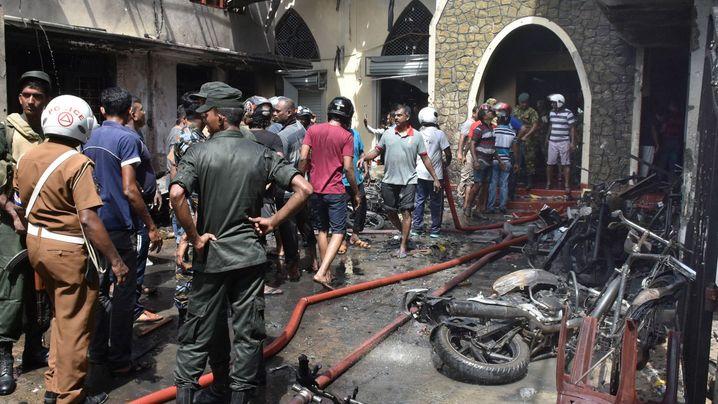 Sri Lanka: Mutmaßlicher Anschlag erschüttert Inselstaat