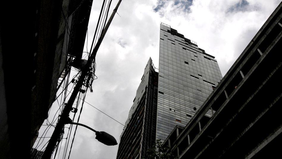 "Hochhaus ""Torre de David"" in Caracas: ""Wirklichkeit gewordener Mythos"""