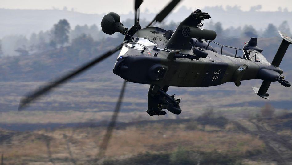 """""""Tiger""""-Helikopter der Bundeswehr (Archivbild)"""
