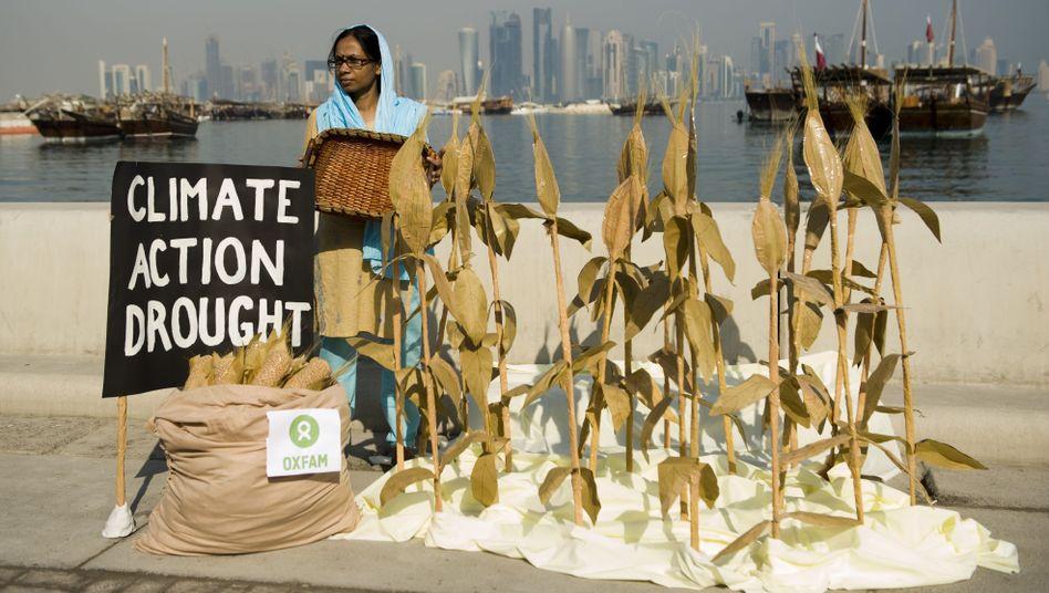 """Klima-Aktivistin aus Bangladesh in Doha: """"Die Texte müssen nachgebessert werden"""""""