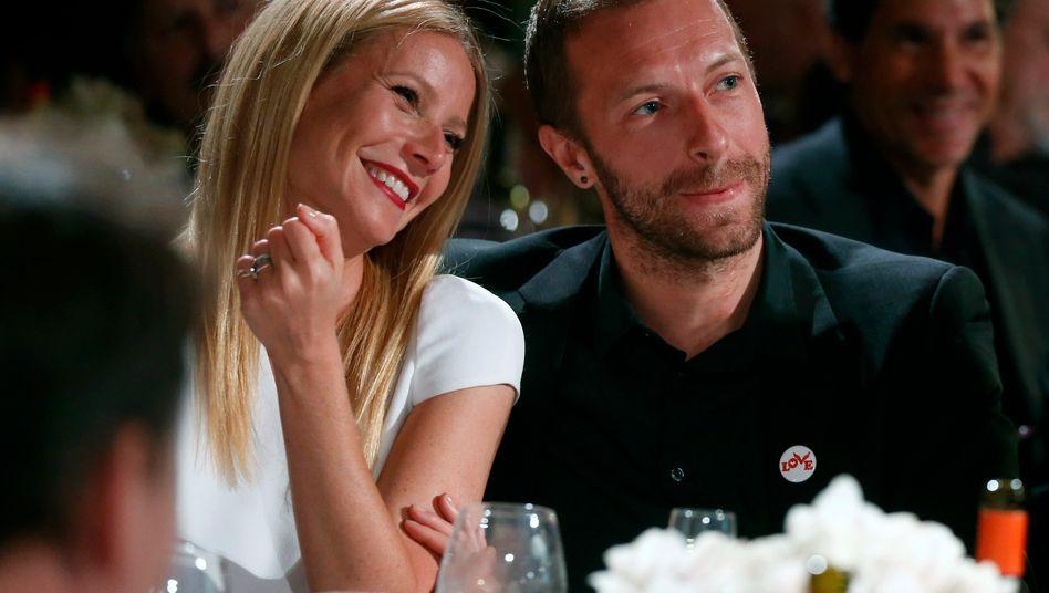 Gwyneth Paltrow und Ex-Mann Chris Martin 2014 in Beverly Hills