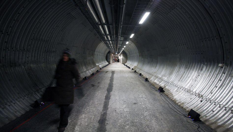 """Global Seed Vault in Longyearbyen: """"Sicher, dass Spitzbergen der richtige Platz war"""""""