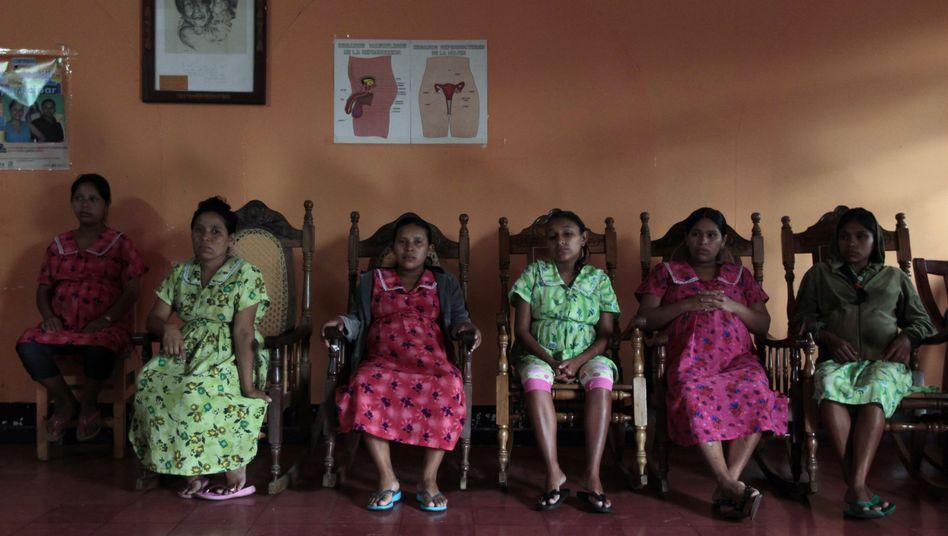 Schwangere Teenager in Nicaragua