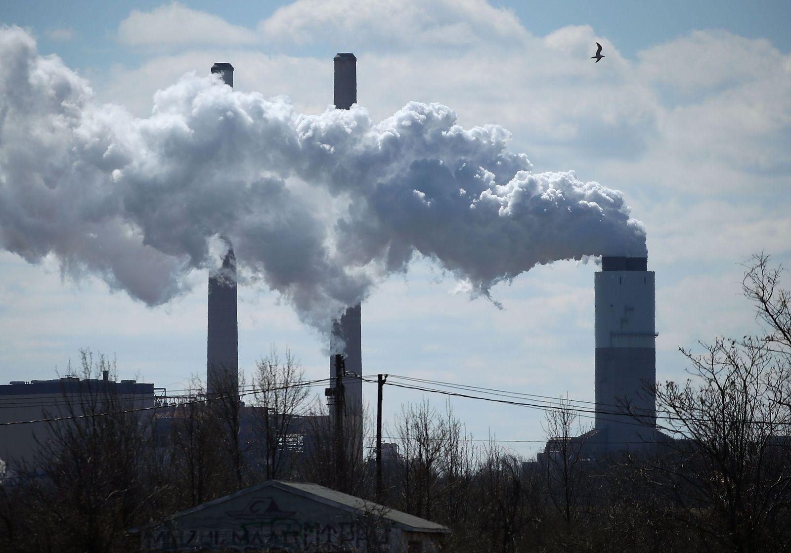 USA/ Industrie/ Luftverschmutzung/ Umweltverschmutzung/ Klima