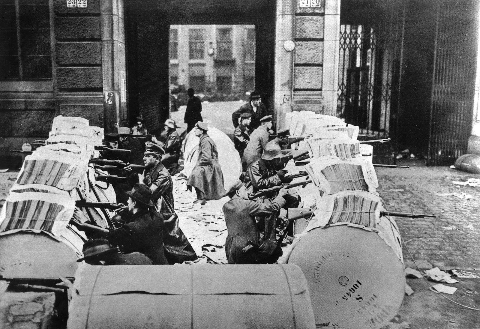 Januarkämpfe 1919 im Berliner Zeitungsviertel