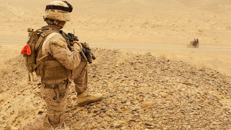 A majority of Americans think that NATO can still stabilize Afghanistan -- just one in 10 Germans agree.