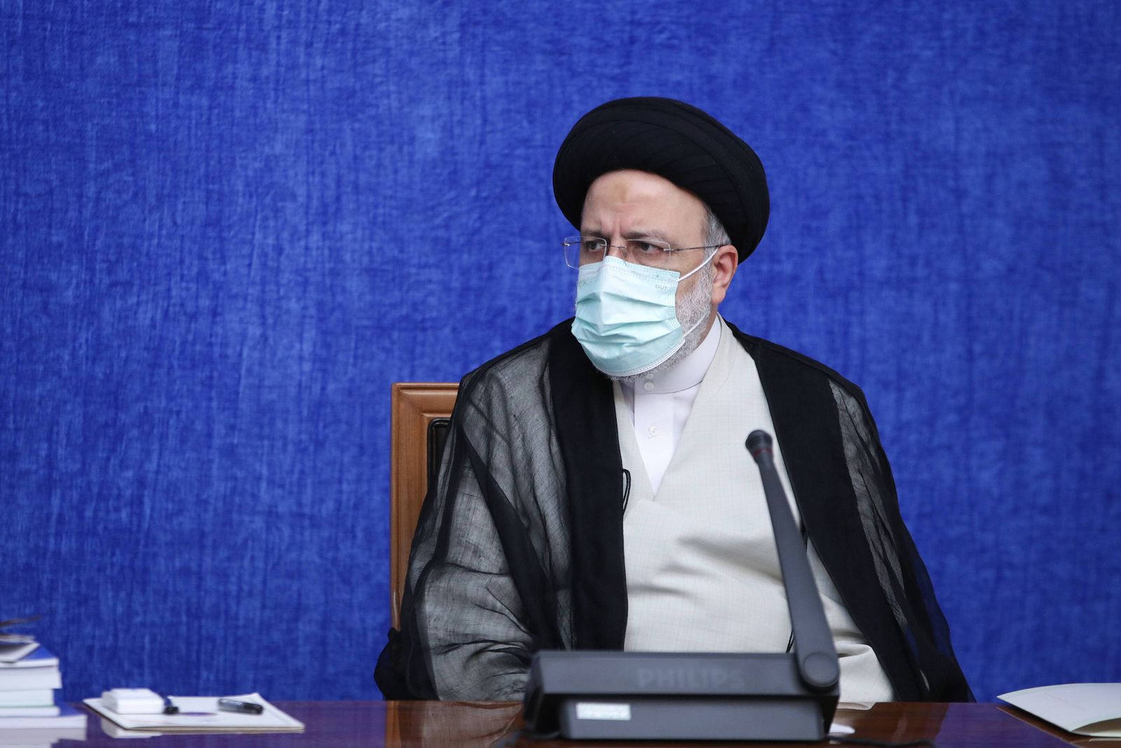 August 4, 2021, Tehran, Tehran, Iran: A handout picture provided by the Iranian presidency on August 4, 2021, shows Iran