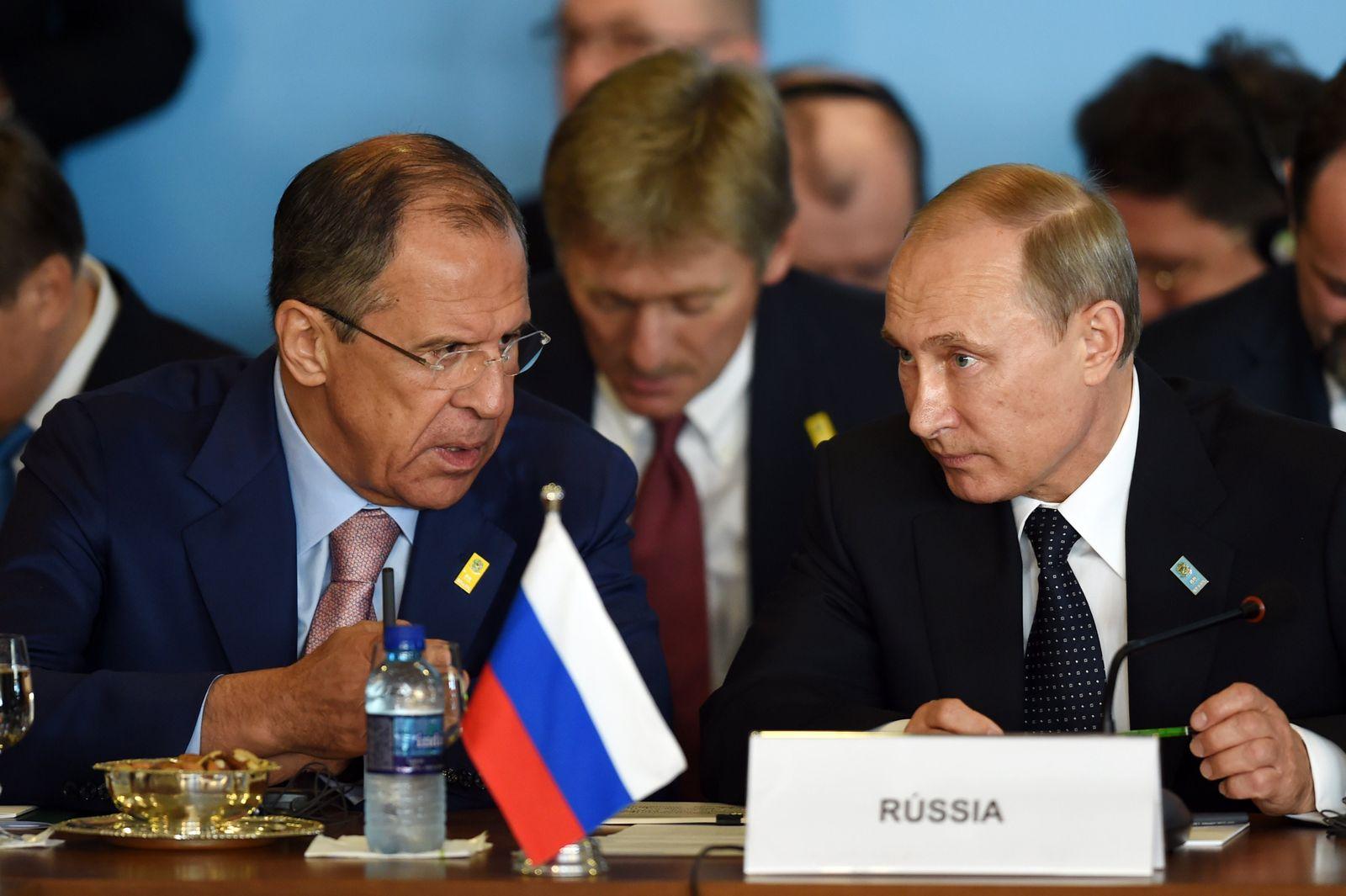 Lawrow & Putin