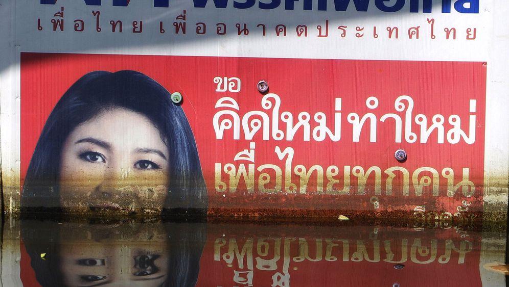 Flut in Thailand: Schlammschlacht bei Hochwasser