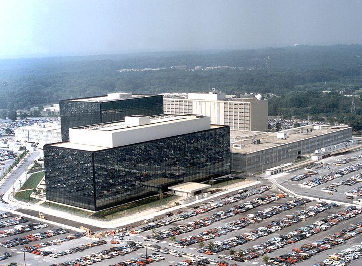 NSA-Hauptquartier in Fort Meade, Maryland: Standard-Bild für Snowden-Enthüllungen