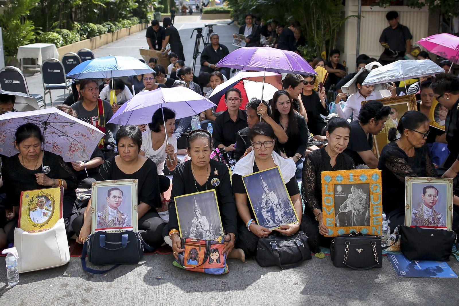 Trailand/ König/ Bhumibol Adulyadej/ Tod