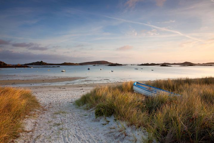 Tresco: Die zweitgrößte der Scilly Islands, die im Süden Englands am westlichen Eingang des Ärmelkanals liegen