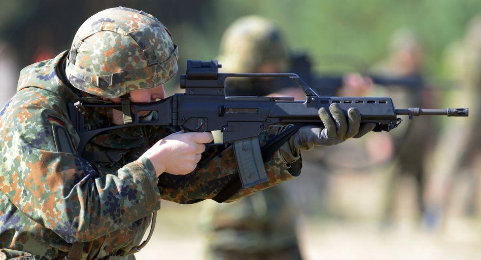 Sturmgewehr G36: Abweichungen im Trefferbild