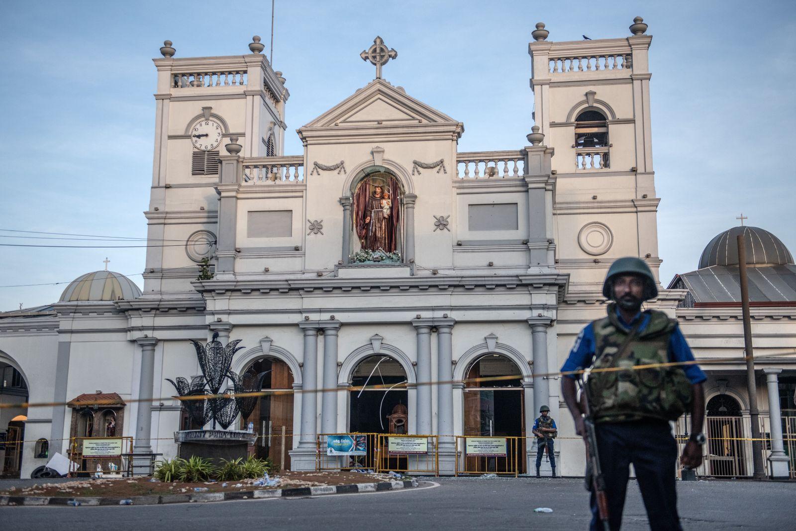 Sri Lanka/ Anschläge