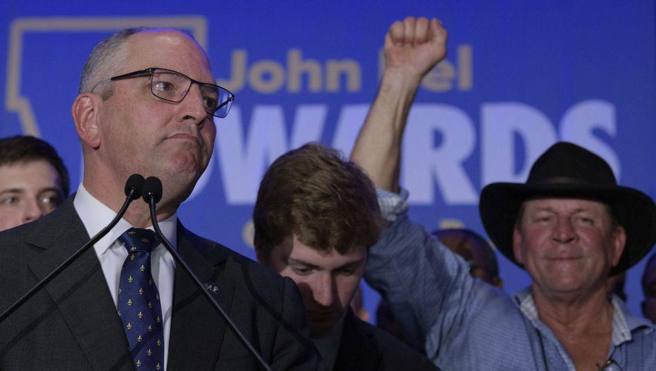 Amtierender und künftiger Gouverneur von Louisiana: John Bel Edwards