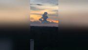 Ein Mädchen am Horizont