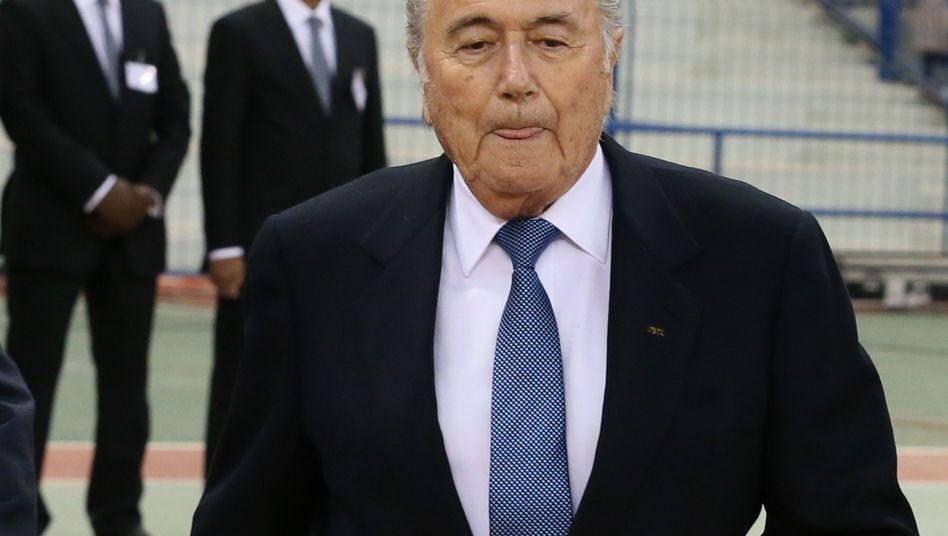 Fifa-Chef Blatter: Seine Rolle wird in Eckerts Bericht lobend erwähnt