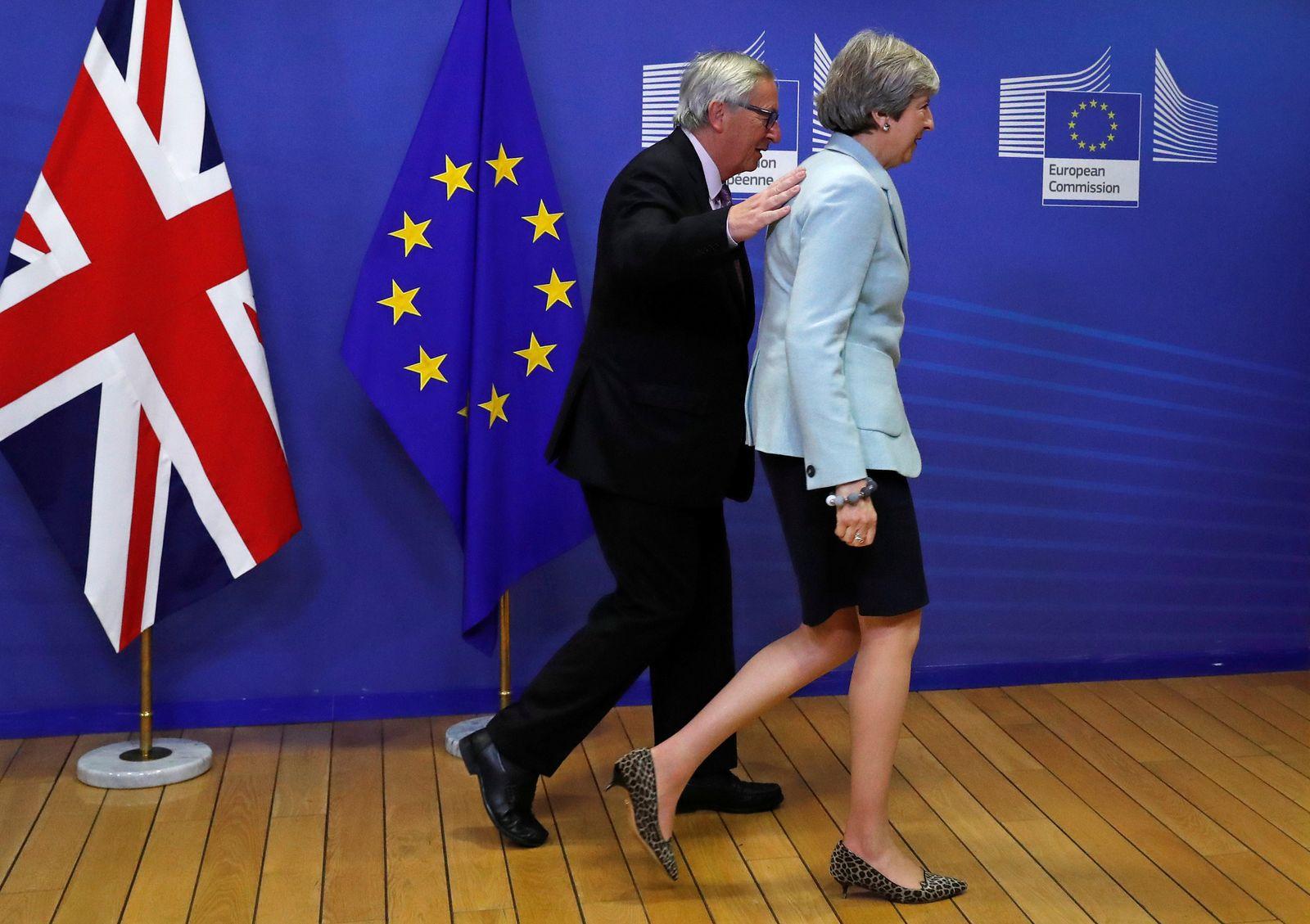 Brexit/ Brüssel/ May/ Juncker 8/12/17