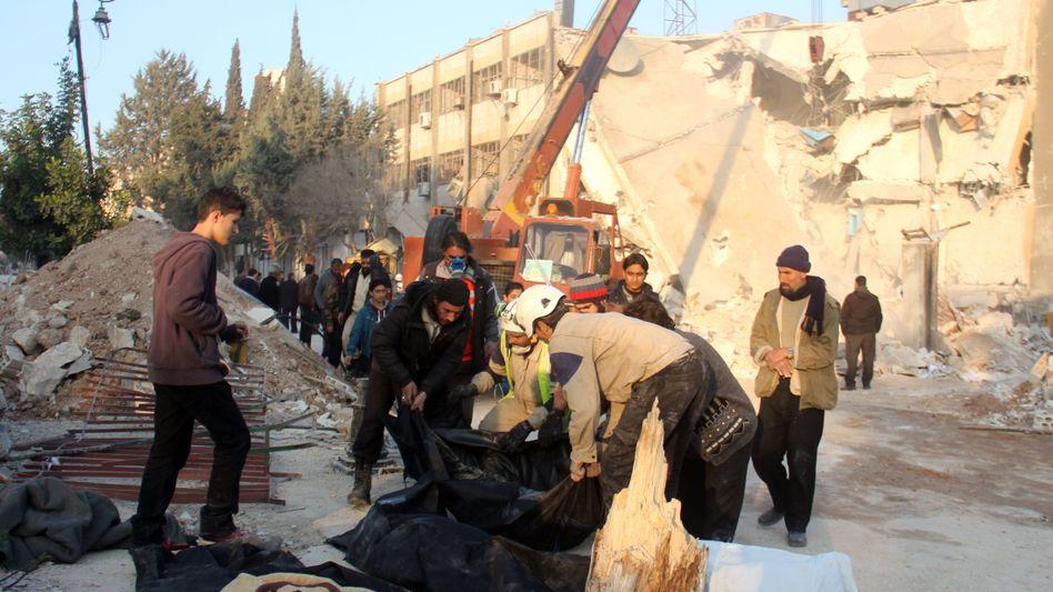 Angriffsort im Nordwesten Syriens: Amnesty erhebt schwere Vorwürfe gegen Russland