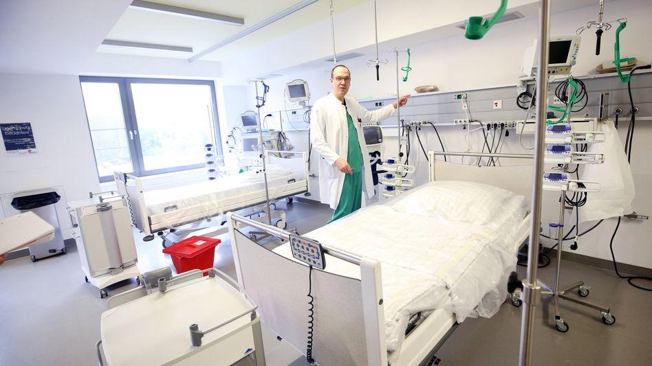 Krankenhaus Viersen in NRW: Zusätzliche Intensivbetten und Beatmungsgeräte