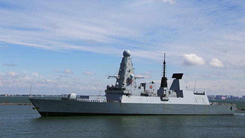 Die »HMS Defender« (Archivaufnahme)