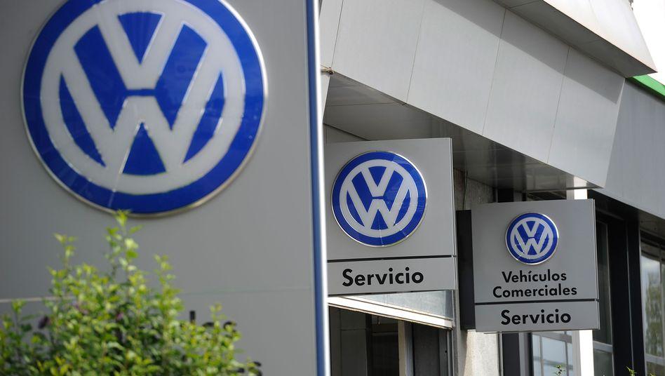 Volkswagen-Filiale in Madrid: Unrechtmäßige Subventionen?