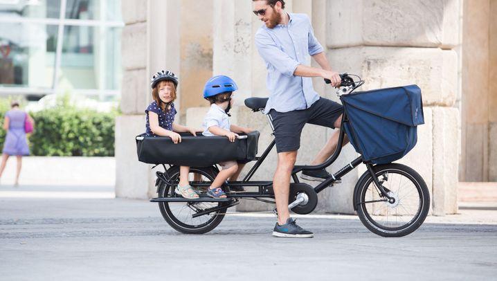 Lastenrad Bicicapace: Nicht schön, aber praktisch